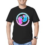 baby Men's Fitted T-Shirt (dark)