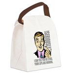 dude5 Canvas Lunch Bag