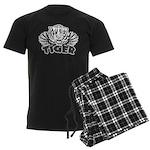 tiger Men's Dark Pajamas