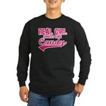 real girl Long Sleeve Dark T-Shirt