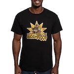 Buddha copy Men's Fitted T-Shirt (dark)