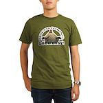 jesus Organic Men's T-Shirt (dark)