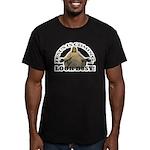 jesus Men's Fitted T-Shirt (dark)