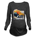 iron wolf Long Sleeve Maternity T-Shirt