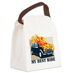 iron wolf Canvas Lunch Bag