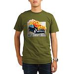 iron wolf Organic Men's T-Shirt (dark)