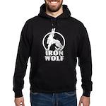 iron wolf Hoodie (dark)
