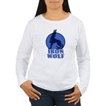 iron wolf Women's Long Sleeve T-Shirt