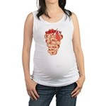 iron wolf Maternity Tank Top