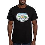 job Men's Fitted T-Shirt (dark)