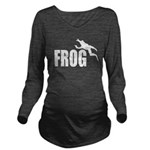 frog6 Long Sleeve Maternity T-Shirt