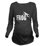 frog6 Long Sleeve Maternity T-Shirt