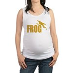 frog6 Maternity Tank Top
