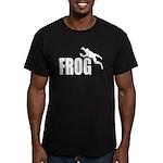 frog6 Men's Fitted T-Shirt (dark)