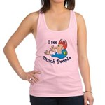 dumb Racerback Tank Top