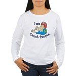 dumb Women's Long Sleeve T-Shirt