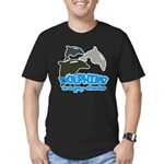 dabar Men's Fitted T-Shirt (dark)