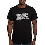 herb Men's Fitted T-Shirt (dark)