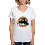 High roller Women's V-Neck T-Shirt