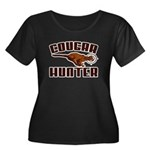 cougar1 copy Women's Plus Size Scoop Neck Dark