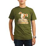 bite me1 Organic Men's T-Shirt (dark)
