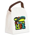 chose life Canvas Lunch Bag