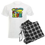 chose life Men's Light Pajamas