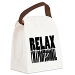relax1 Canvas Lunch Bag