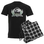 lion1 Men's Dark Pajamas