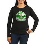 st. patrick Women's Long Sleeve Dark T-Shirt