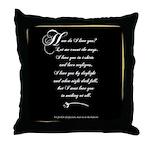 How Do I Love You? Throw Pillow