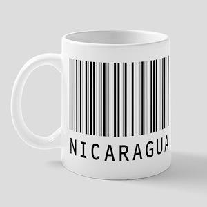 NICARAGUA Barcode Mug