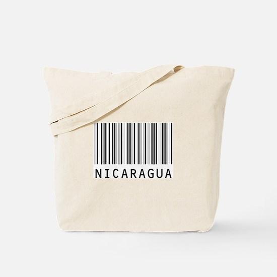 NICARAGUA Barcode Tote Bag