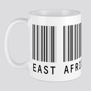 EAST AFRICA Barcode Mug