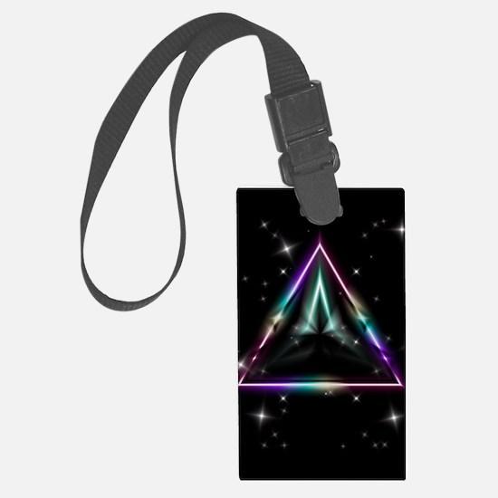Mystic Prisms - Pyramid - Luggage Tag