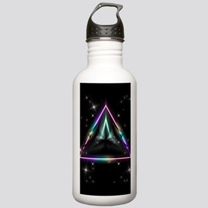 Mystic Prisms - Pyramid - Stainless Water Bottle 1