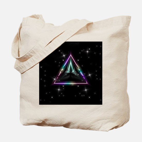 Mystic Prisms - Pyramid - Tote Bag