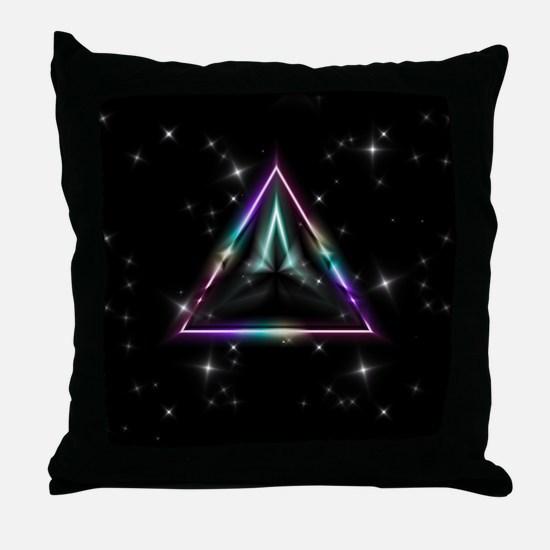 Mystic Prisms - Pyramid - Throw Pillow