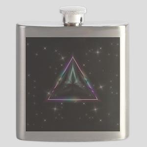 Mystic Prisms - Pyramid - Flask