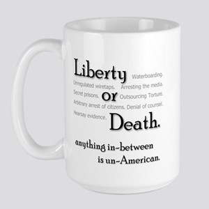 Civil Liberties Activism Large Mug