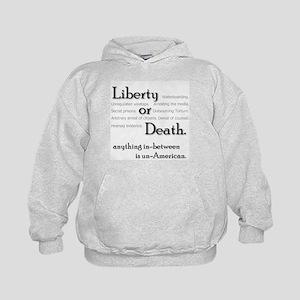 Civil Liberties Activism Kids Hoodie