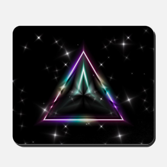 Mystic Prisms - Pyramid - Mousepad