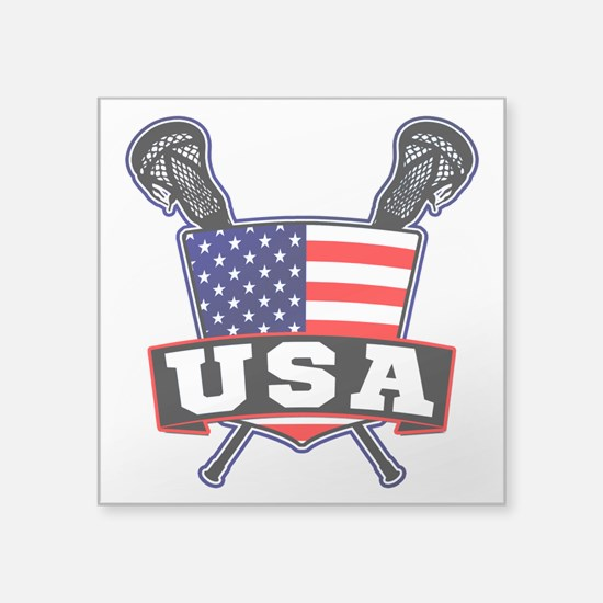 Team USA Lacrosse Logo Sticker