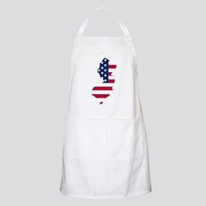 New Jersey American Flag Apron