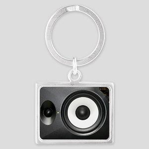 Loudspeaker Landscape Keychain