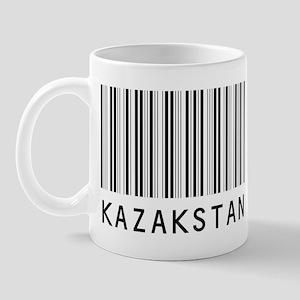 KAZAKSTAN Barcode Mug