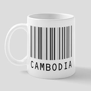 CAMBODIA Barcode Mug