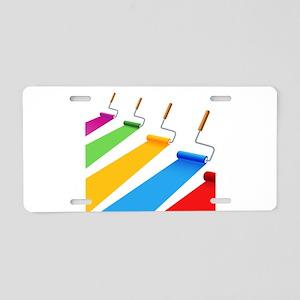Art - Design - Paint Aluminum License Plate