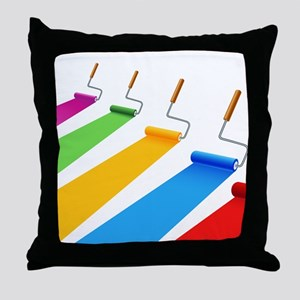 Art - Design - Paint Throw Pillow