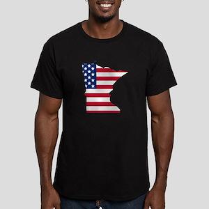 Minnesota American Flag T-Shirt